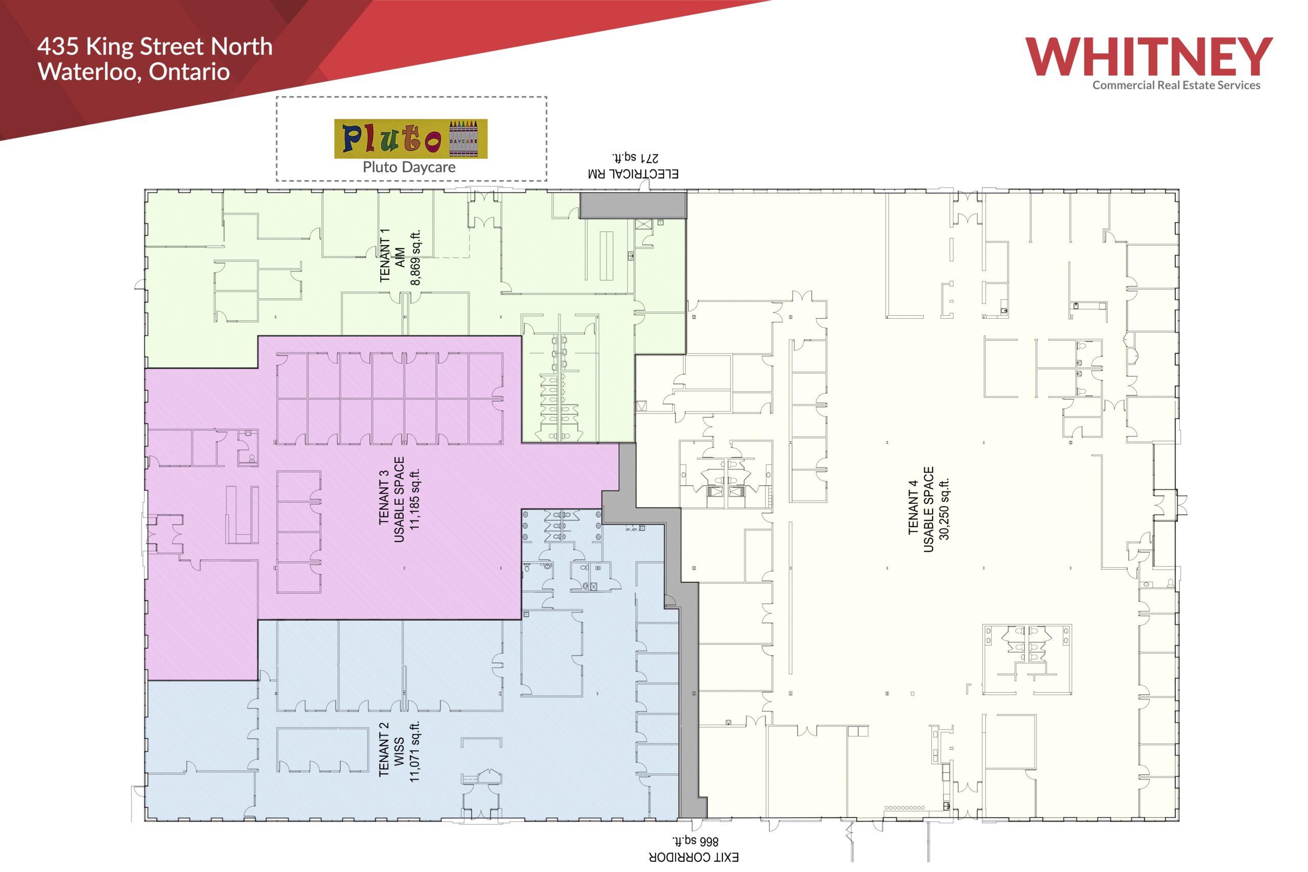 435 King St N. Floor Plan
